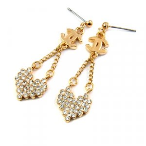 25188-alloy with stone earring