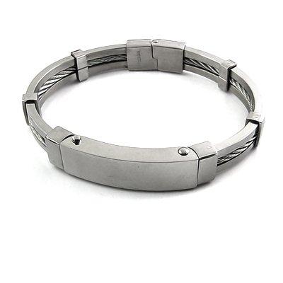 25247-Stainless Steel bangel