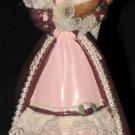 Victorian Barbie with Cedric Bear ornament