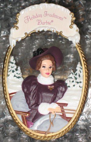 Holiday Traditions Barbie Ornament