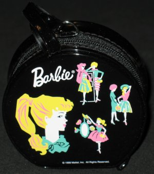 1962 Barbie Hatbox Doll Case ornament