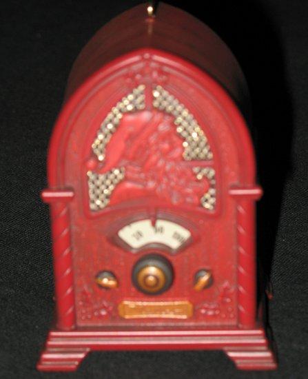 A Christmas Broadcast hallmark ornament