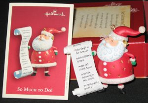 So Much To Do! ornament