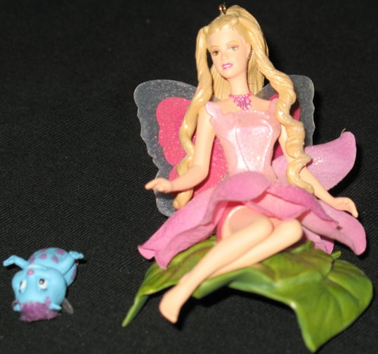 Barbie Fairytopia Ornament 2 piece set