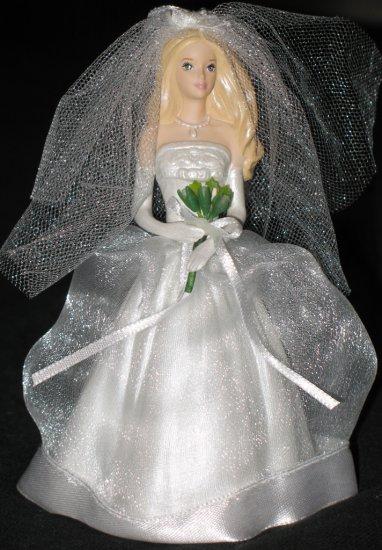Blushing Bride Barbie ornament