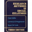 Research Methods in Social Relations, 3rd edition
