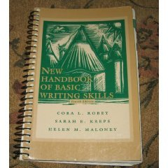 New Handbook of basic Writing Skills, 4th edition