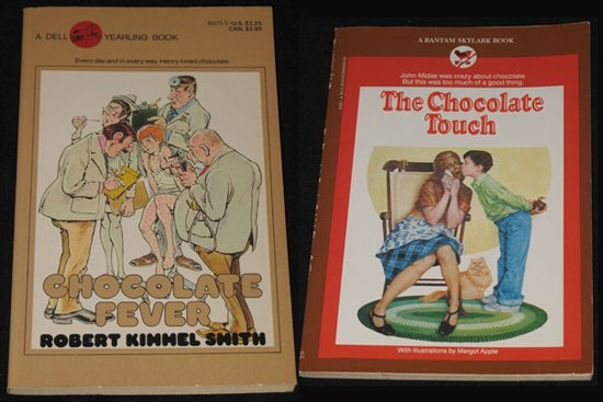 Books: The Chocolate Touch and Chocolate Fever