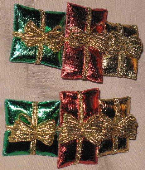 Christmas presents barrettes