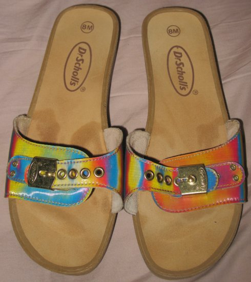 Gold Dr. Scholls Sandals size US 8