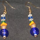 Colorful Pinecone Dangle Earrings