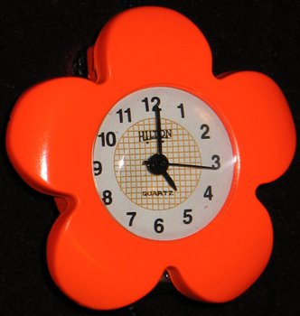 Spring Orange Flower Stretchable finger watch