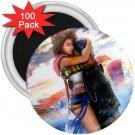 Yuna and Tidus hug--ffx/ff10--100-3 inch magnets