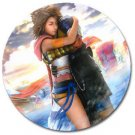 Yuna and Tidus--ffx/ff10--3 inch round magnet
