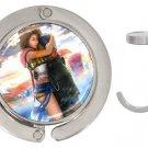 Yuna and Tidus--ffx/ff10--round handbag hanger