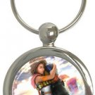 Yuna and Tidus--ffx/ff10--round key chain