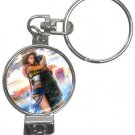 Yuna and Tidus--ffx/ff10--Nail Clippers Key Chain