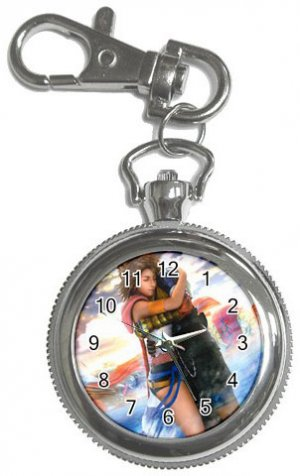 Yuna and Tidus--ffx/ff10--Key Chain Watch