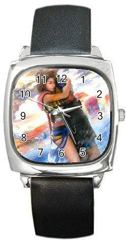 Yuna and Tidus--ffx/ff10--Square Metal Watch