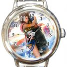 Yuna and Tidus--ffx/ff10--Round Italian Charm Watch