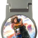 Yuna and Tidus--ffx/ff10--round money clip