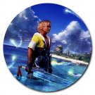 Warrior Tidus ffx/ff10--Round Mousepad