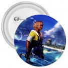 Warrior Tidus ffx/ff10--2.25 in. Button