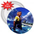 Warrior Tidus ffx/ff10--10-3 inch buttons