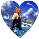 Warrior Tidus ffx/ff10--heart shaped magnet