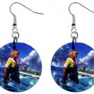 Warrior Tidus ffx/ff10--1 inch Button Earrings