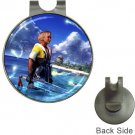 Warrior Tidus ffx/ff10--Golf Ball Marker Hat Clip