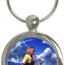 Warrior Tidus ffx/ff10--round shaped keychain