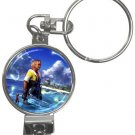 Warrior Tidus ffx/ff10--Nail Clippers Key Chain