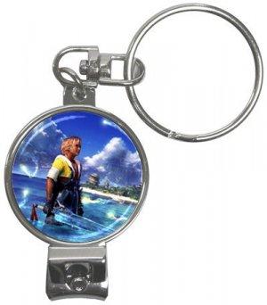 Warrior Tidus ffx/ff10--Nail Clippers Key Chain