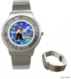 Warrior Tidus ffx/ff10--Stainless Steel Watch