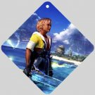 Warrior Tidus ffx/ff10--Car Window Sign