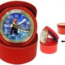 Warrior Tidus--ffx/ff10-red Jewelry Case Clock