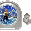 Warrior Tidus--ffx/ff10- silver Travel Alarm Clock