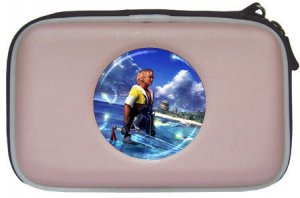 Warrior Tidus--ffx/ff10-- pink NDS Lite Case