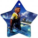 Warrior Tidus ffx/ff10--star shaped ornament