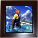 Warrior Tidus ffx/ff10--Framed Tile