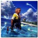 Warrior Tidus ffx/ff10--Tile Coaster