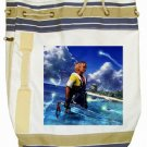 Warrior Tidus ffx/ff10--Beach Tote Bag