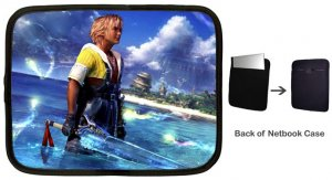 Warrior Tidus ffx/ff10--large Netbook Case
