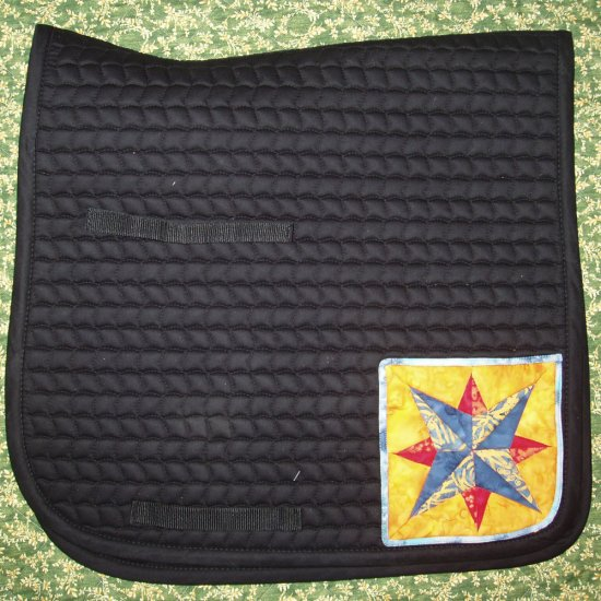 Dressage Saddle Pad with Blazing Star 847