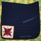 Dressage Saddle Pad with Blazing Star 845