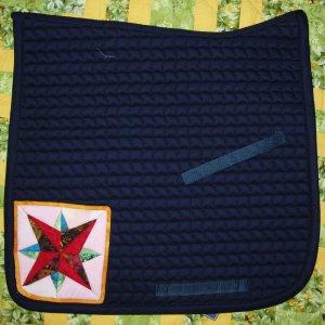 Dressage Saddle Pad with Blazing Star 845