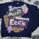 """Aunt Eeck"" Primitive style art sweatshirt  2XLg  685"
