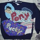 Pony Pucky Sweatshirt child XL fits small adult  613