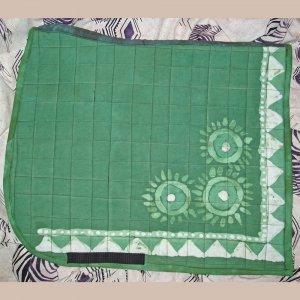 Green Batik Dressage Pad 820